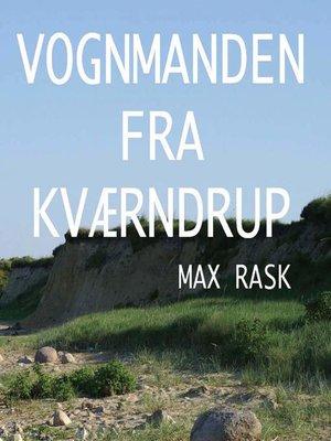 cover image of Vognmanden fra Kvaerndrup