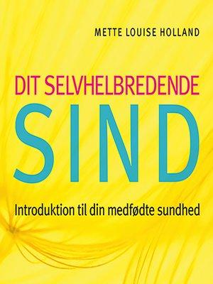 cover image of Dit selvhelbredende sind