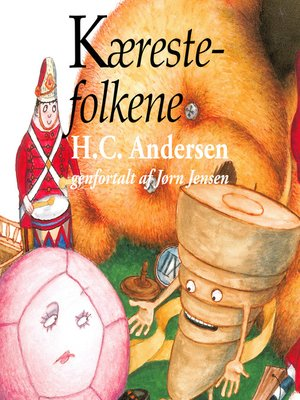 cover image of Kærestefolkene