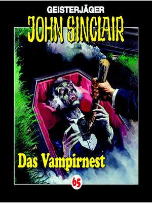 cover image of John Sinclair, Folge 65