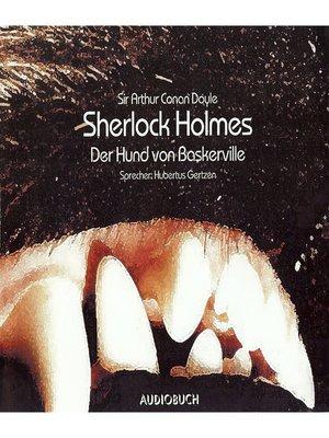 cover image of Sherlock Holmes--Der Hund von Baskerville