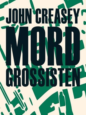 cover image of Mordgrossisten