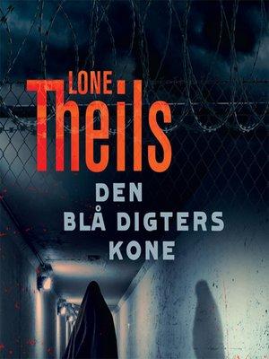 cover image of Den blå digters kone