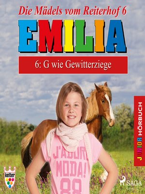 cover image of Emilia--Die Mädels vom Reiterhof, 6