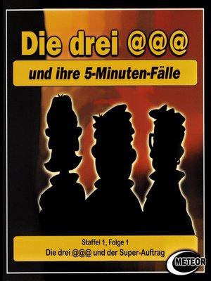 cover image of Die drei @@@ (Die drei Klammeraffen), Staffel 1, Folge 1