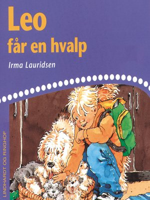 cover image of Leo får en hvalp
