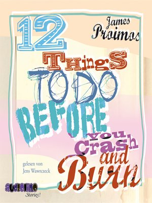 cover image of 12 Things to Do Before You Crash and Burn