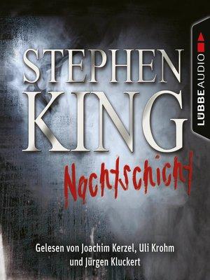 cover image of Nachtschicht--20 Erzählungen