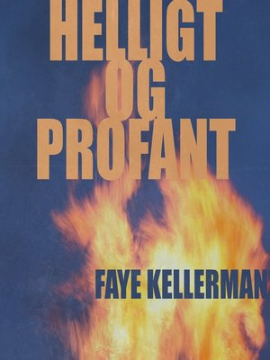 cover image of Helligt og profant
