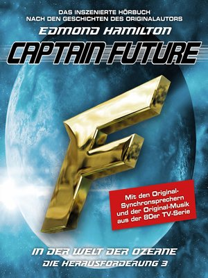 cover image of Captain Future, Die Herausforderung, Folge 3