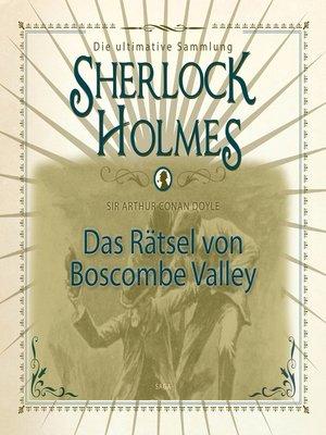 cover image of Sherlock Holmes, Das Rätsel von Boscombe Valley