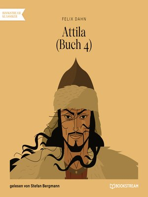 cover image of Attila, Buch 4