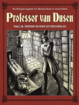 cover image of Professor van Dusen, Die neuen Fälle, Fall 19