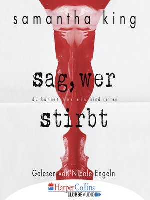 cover image of Sag, wer stirbt