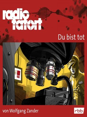 cover image of Radio Tatort rbb--Du bist tot