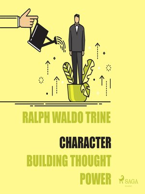 cover image of Character--Building Thought Power