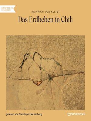 cover image of Das Erdbeben in Chili