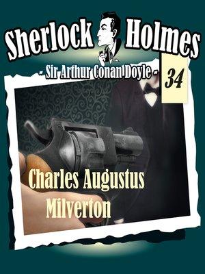 cover image of Sherlock Holmes, Die Originale, Fall 34