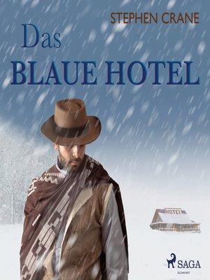 cover image of Das blaue Hotel