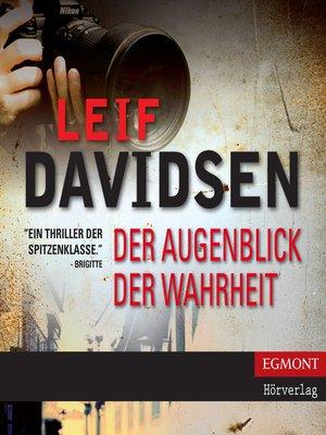 cover image of Der Augenblick der Wahrheit