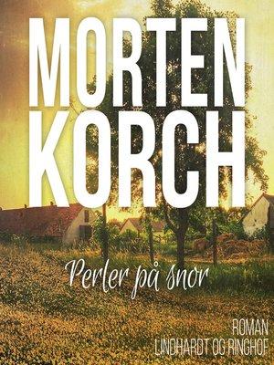 cover image of Perler på snor