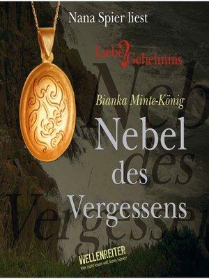 cover image of Nebel des Vergessens