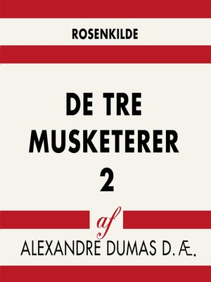 cover image of De tre musketerer 2