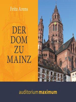 cover image of Der Dom zu Mainz