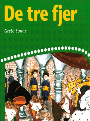 cover image of De tre fjer
