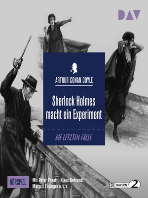 cover image of Sherlock Holmes macht ein Experiment (Hörspiel)