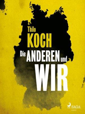 cover image of Die anderen und wir