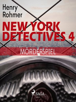 cover image of Mörderspiel--New York Detectives 4