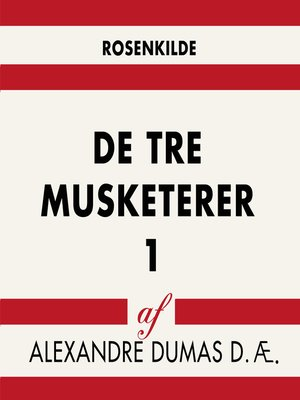 cover image of De tre musketerer 1