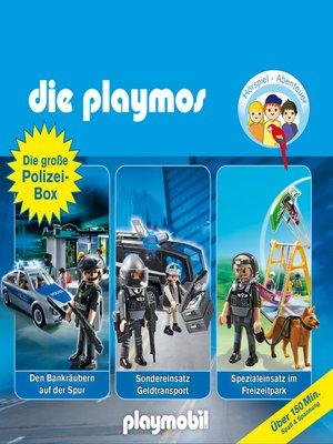 cover image of Die große Polizei-Box, Folgen 28, 41 & 44