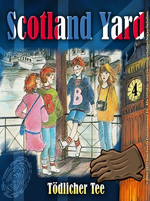 cover image of Scotland Yard, Folge 4