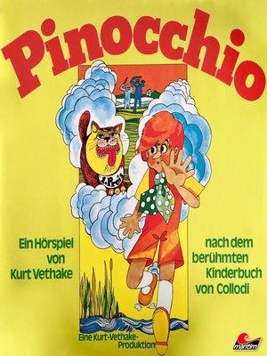 cover image of Carlo Collodi, Pinocchio