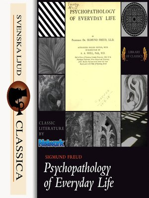 cover image of Psychopathology of Everyday Life