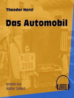 cover image of Das Automobil