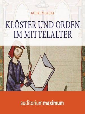 cover image of Klöster und Orden im Mittelalter