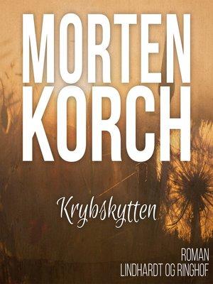 cover image of Krybskytten