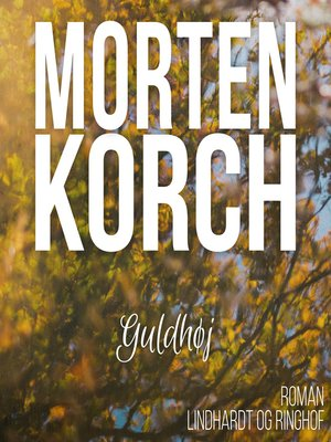 cover image of Guldhøj