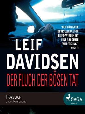 cover image of Der Fluch der bösen Tat