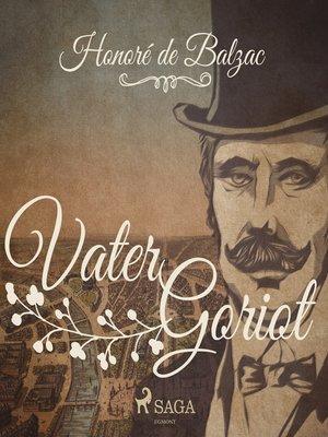 cover image of Vater Goriot (Ungekürzt)