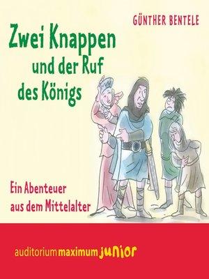 cover image of Zwei Knappen und der Ruf des Königs--Ein Abenteuer aus dem Mittelalter