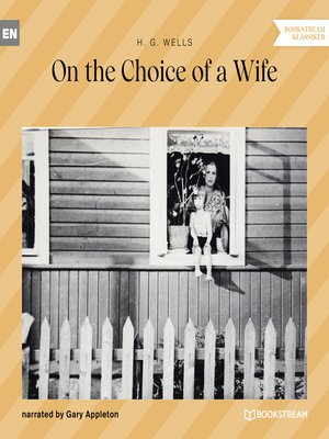 cover image of On the Choice of a Wife