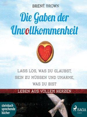 cover image of Die Gaben der Unvollkommenheit