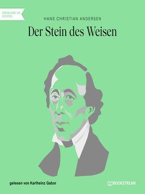 cover image of Der Stein des Weisen