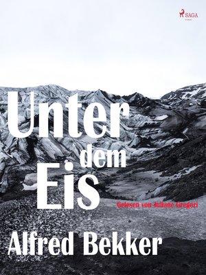 cover image of Unter dem Eis