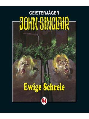 cover image of John Sinclair, Folge 84