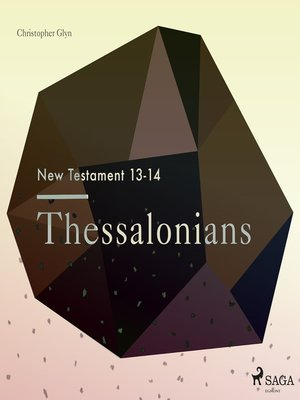 cover image of Thessalonians--The New Testament 13-14